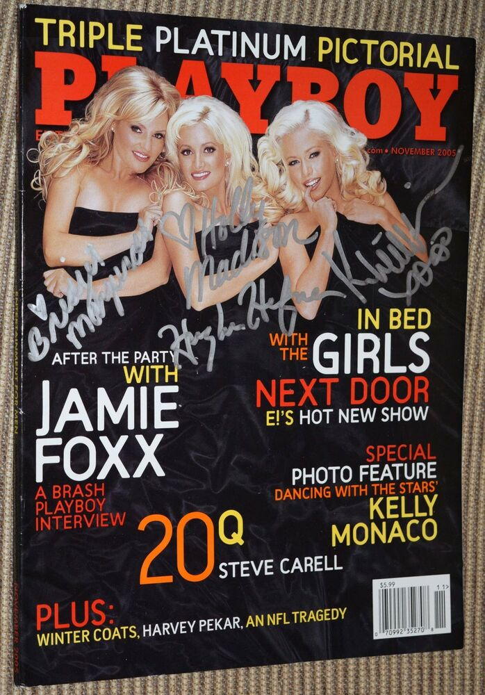 Playboy girls next door magazine covers
