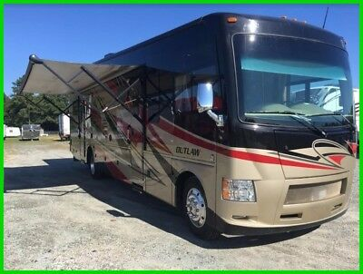 2015 Thor Motor Coach Outlaw 37LS 38' Class A RV Toy Hauler V10 Gas Slide Out NC