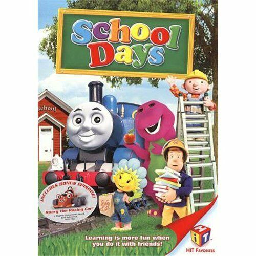 HIT Favorites: School Days (DVD, 2009)