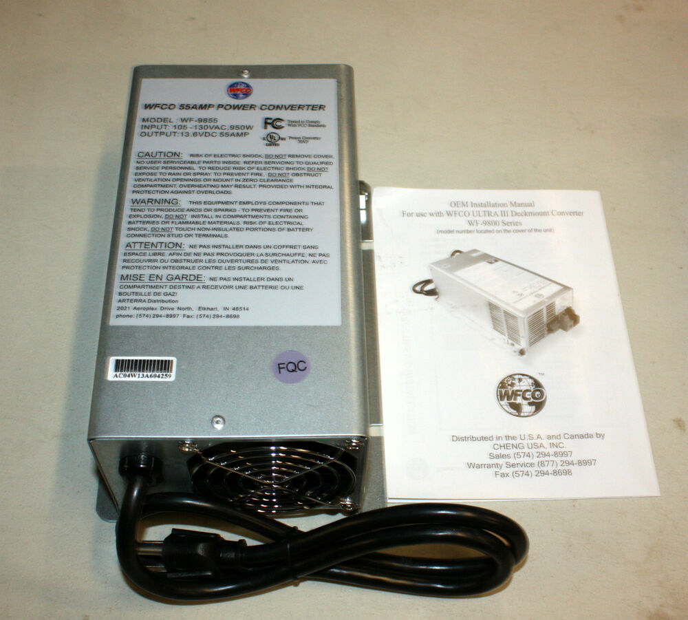 s l1000 rv power converter ebay  at alyssarenee.co