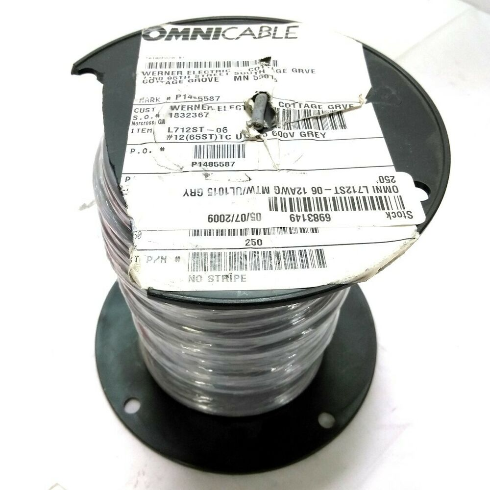 New Omni 712ST-06 MTW Electrical Wire, 41 Strand, 14 AWG, 600V ...
