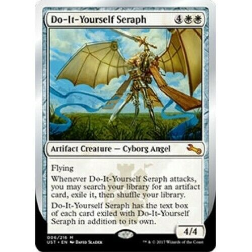 Do it yourself seraph x4 unstable magic mtg mint card ebay solutioingenieria Image collections
