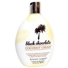 Brown Sugar Black Chocolate Coconut Cream 200X Bronzer Tanning Bed Lotion 13.5oz
