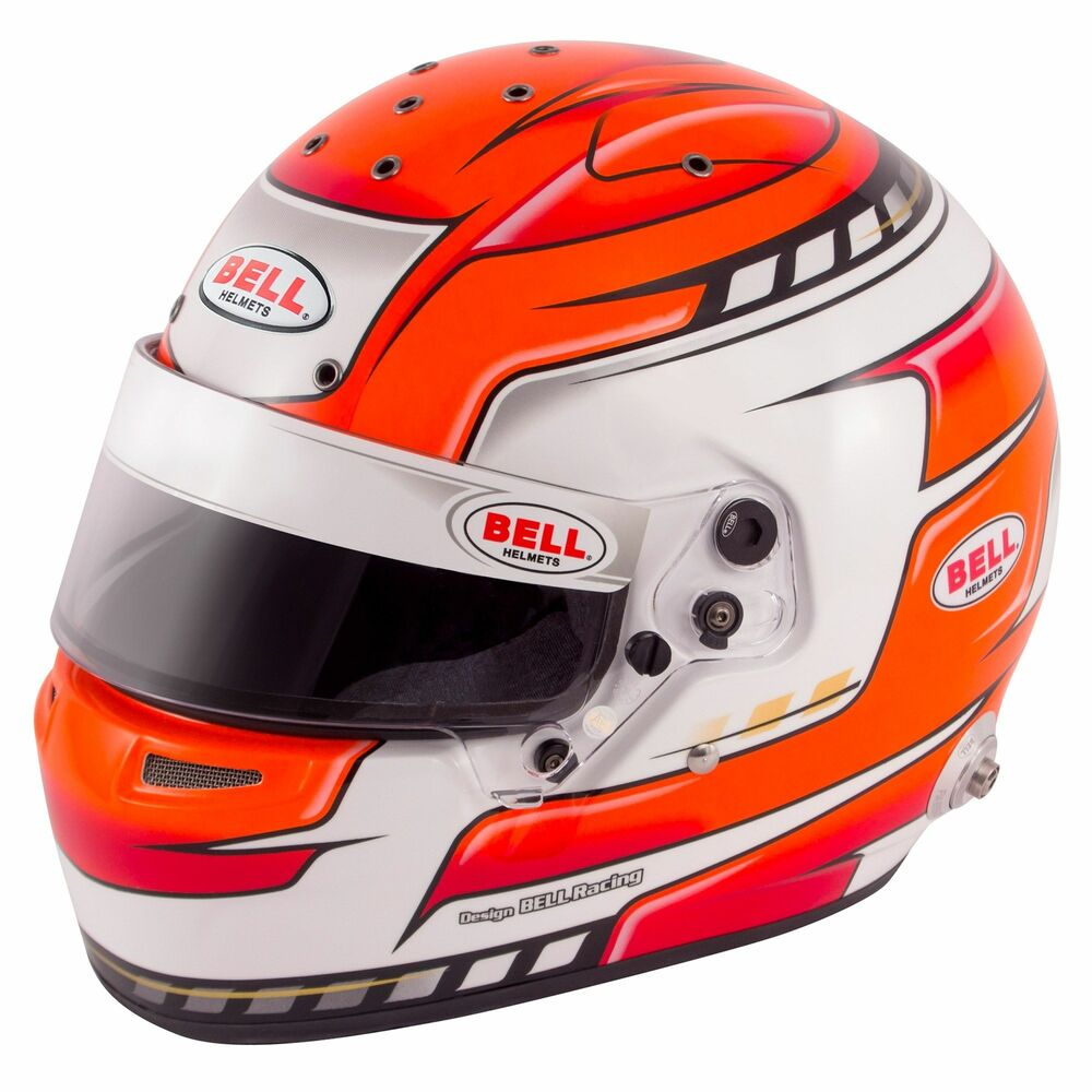 Bell RS7 Pro FIA & Snell Approved Rally Racing Car Crash