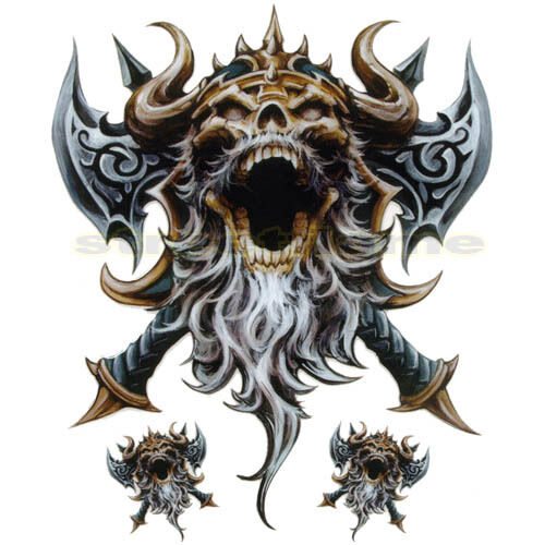 Decal Graphic Motorcycle Windscreens Air Brush Viking