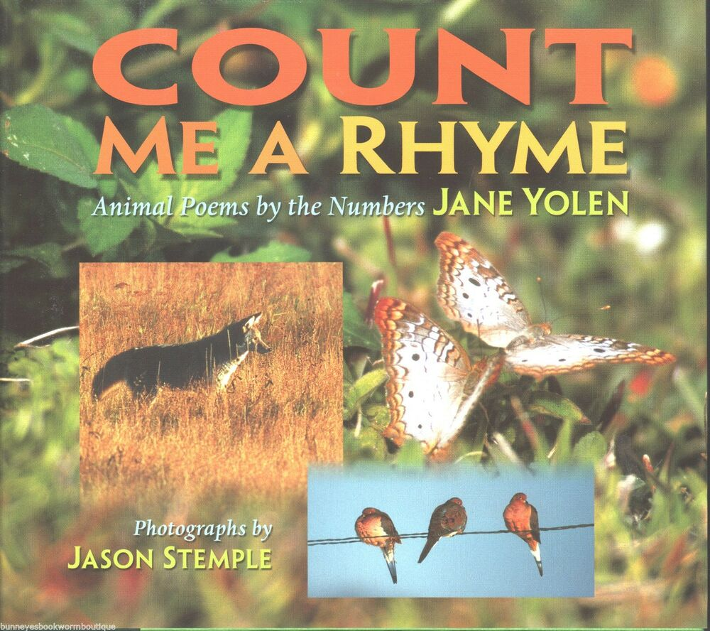 count me a rhyme animal poems poetry new kids book jane yolen nature