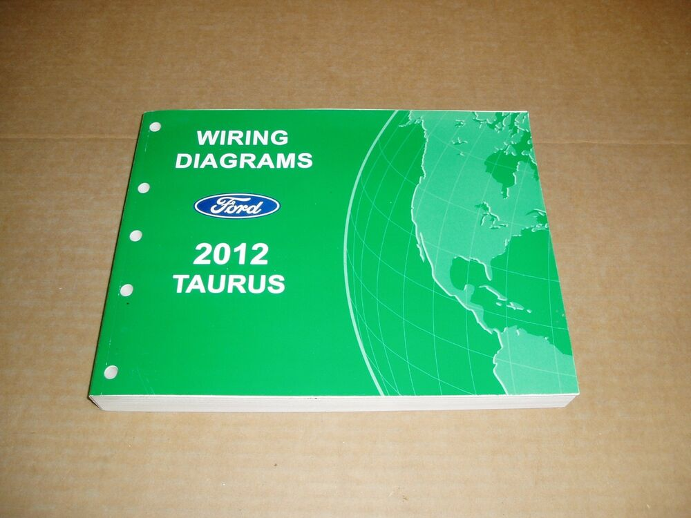 2012 Ford Taurus Wiring Diagram Service Shop Dealer Repair Manual