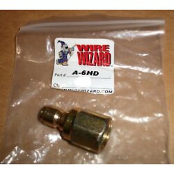 WELDING WIRE WIZARD A-6HD MALE QUICK DISCONNECT FEMALE 1/2'' THREADS