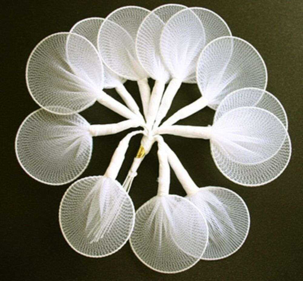 144 Almond Candy Flower Holders White Gold Or Silver Edge Wedding ...