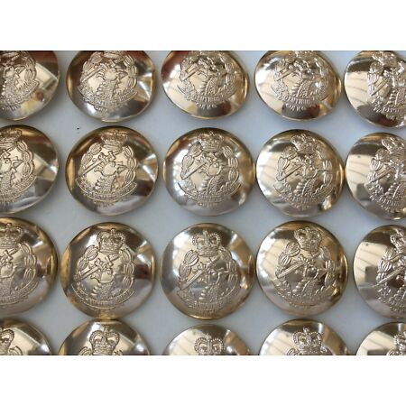 img-BRITISH ARMY NO1 & NO2 DRESS BUTTONS - Multiple regiments , Jacket & Cap buttons
