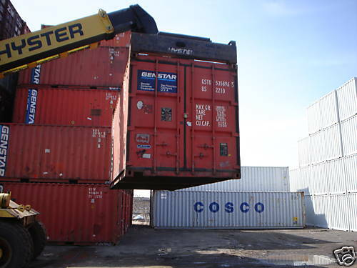 20 ft steel cargo shipping storage container Houston TX Texas