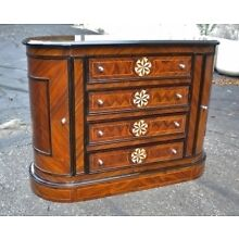 Great marquetry Directoire style walnut sideboard