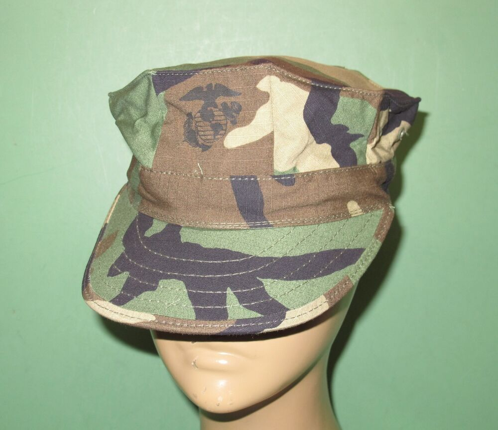 US Military Issue Marine Corps USMC 8 Point Woodland