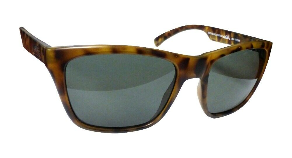 3aa4f9d0f0 Details about Hobie Woody Sunglasses SATIN Leopard Tortoise Frame w  Grey Polarized  Lenses