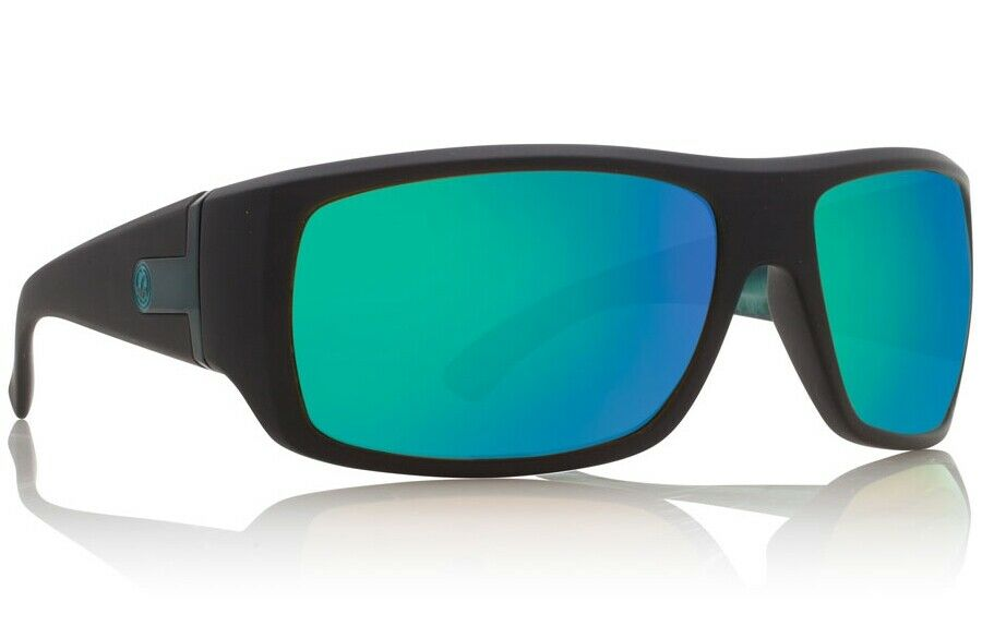 61cfdfc230 Dragon Vantage Sunglasses Matte Black Clark Little Frame w  Green ...