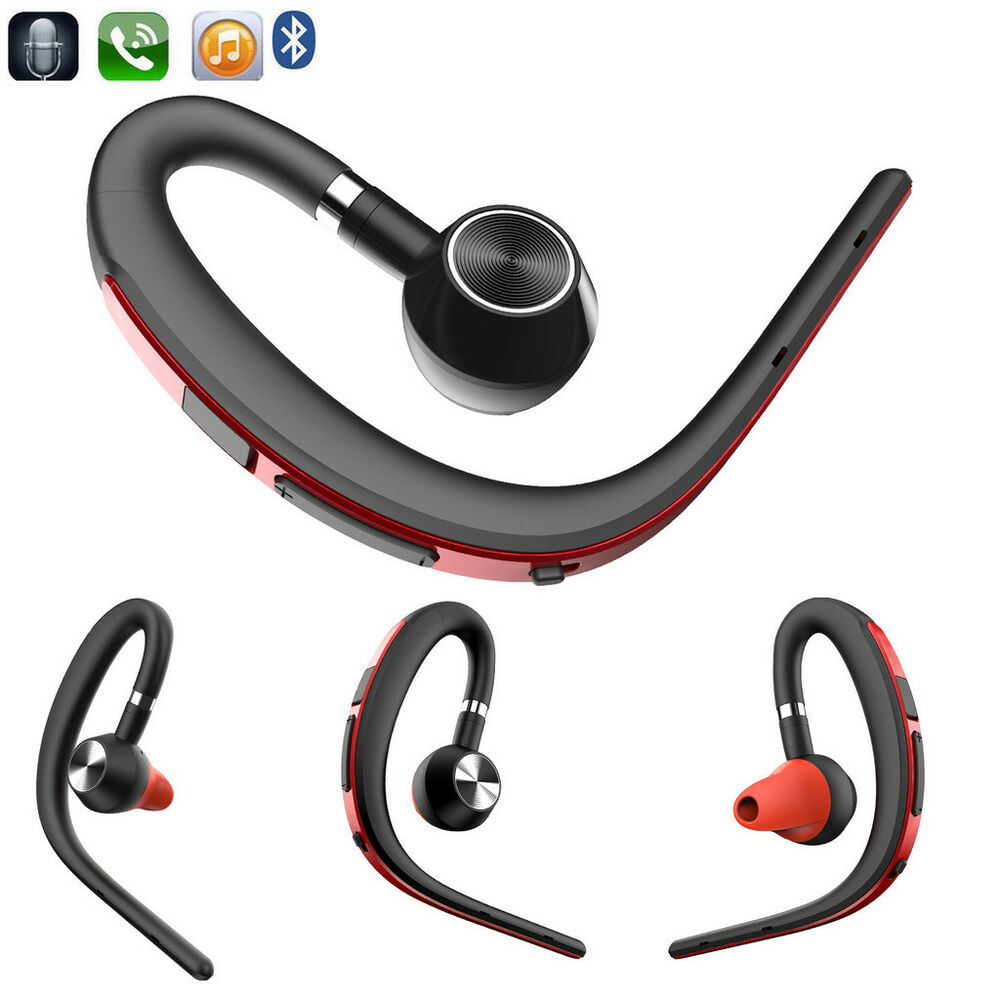 Handsfree Business Bluetooth Headset With Mic Voice: Handsfree Call Bluetooth Headset Earphone With MIC For