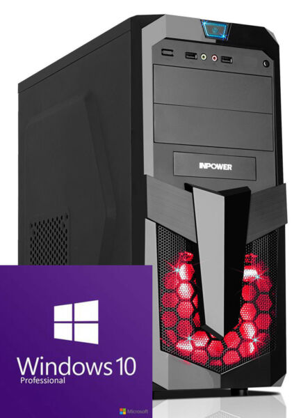 GAMER PC AMD Ryzen 7 2700 GT 710 - 2GB/RAM 8GB/120GB SSD/Windows 10/Computer