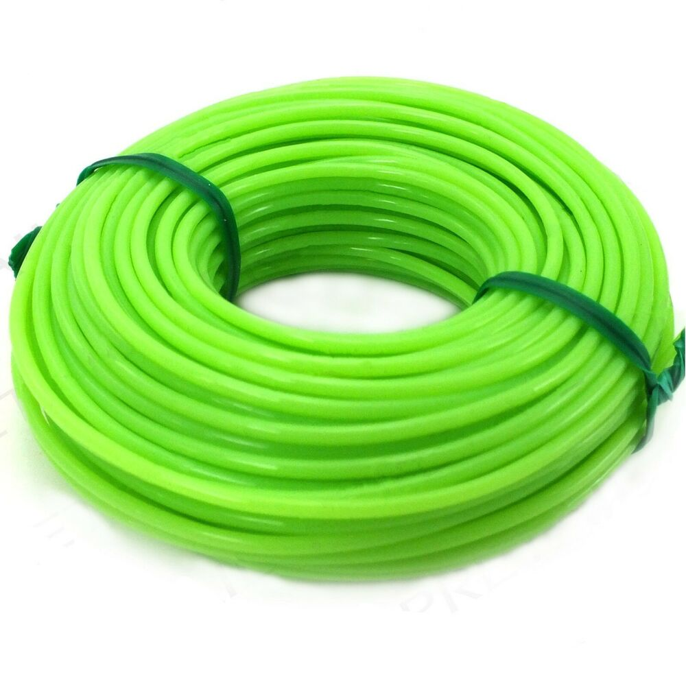 15 Metres Thick Strimmer Line 165mm Electric Nylon Cord Wire Garden