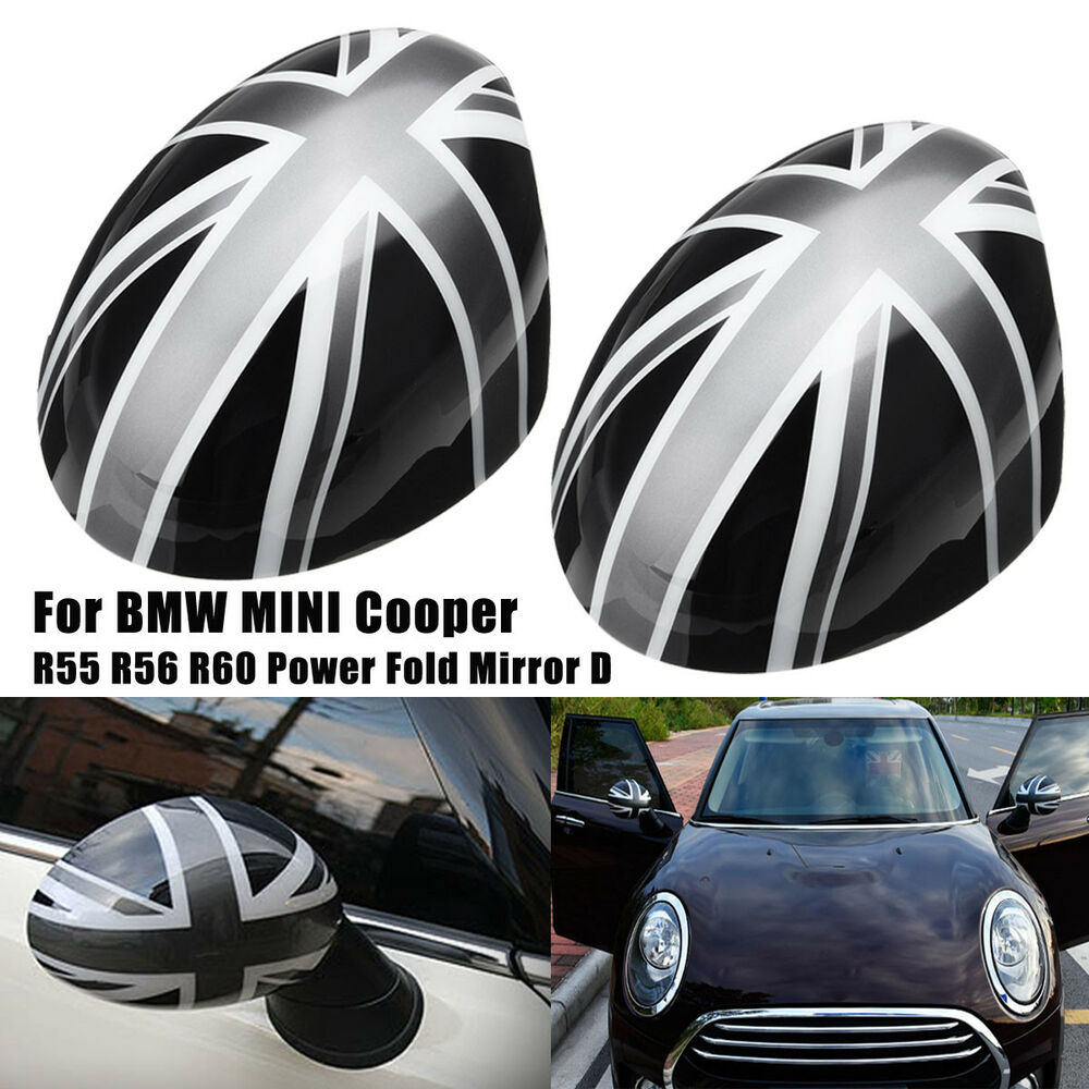 Bmw Z1 Door: 2x Union Jack WING Mirror Covers For MINI Cooper R55/56/57