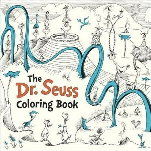 The Dr. Seuss Coloring Book (Paperback or Softback) 9781524715106 | eBay