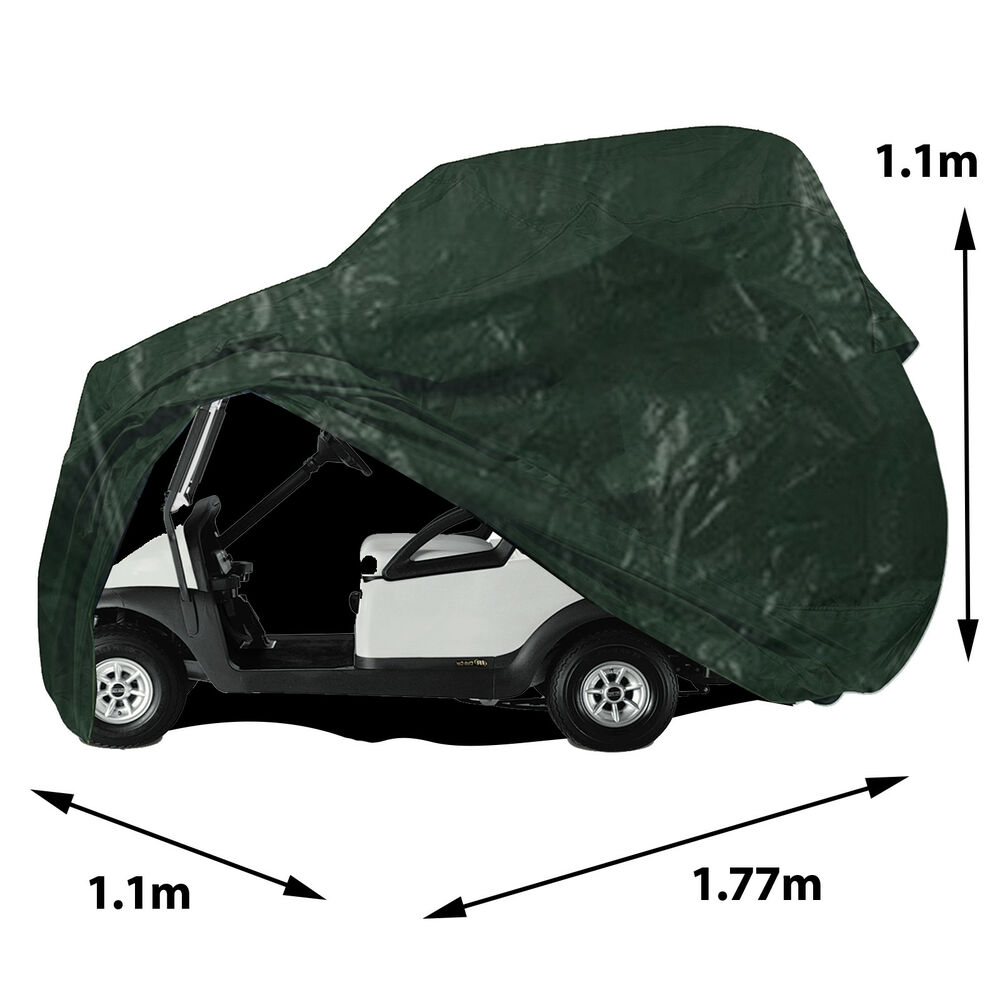Details About Electric Golf Buggy Car Roof Cover Outdoor Waterproof Drawstring Storage Shelter