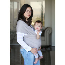 Kyпить Baby Wrap Cotton Carrier Sling Thick Safe Nursing Cover Adjustable Breathable на еВаy.соm