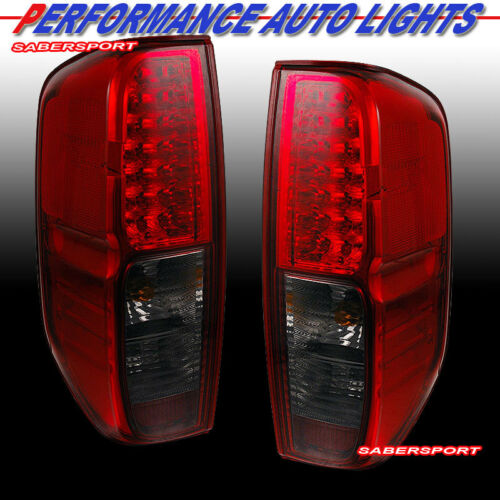 set-of-pair-red-smoke-led-taillights-for-20052013-nissan-frontier