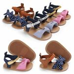 Infant Baby Girl Soft Sole Shoes Toddler Non-slip Summer Sandals Prewalker 0-18M