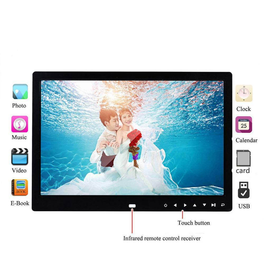 """7""""-15.4"""" Digital Photo Frame Electronic Picture Video"""