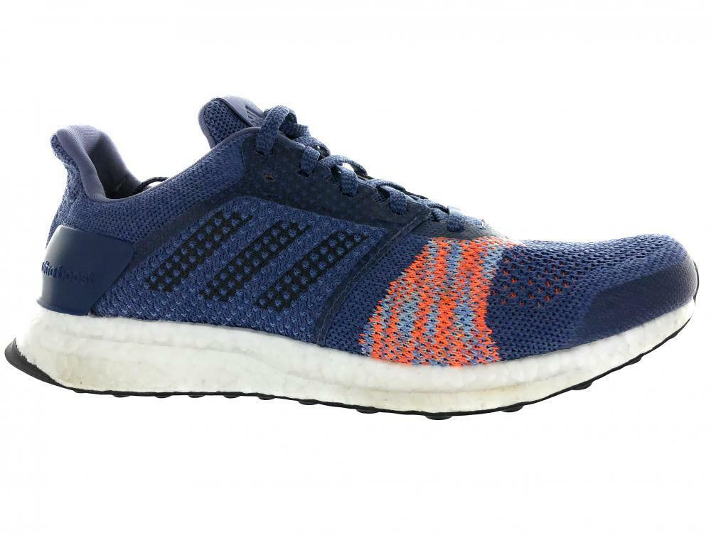 bd3b51499ca Details about Women s Adidas Ultra Boost ST Running Athletic Shoes CQ2133  Indigo Orange