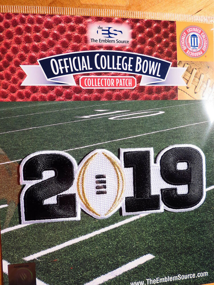 NCAA College Football White 2019 CFP Championship Game ...
