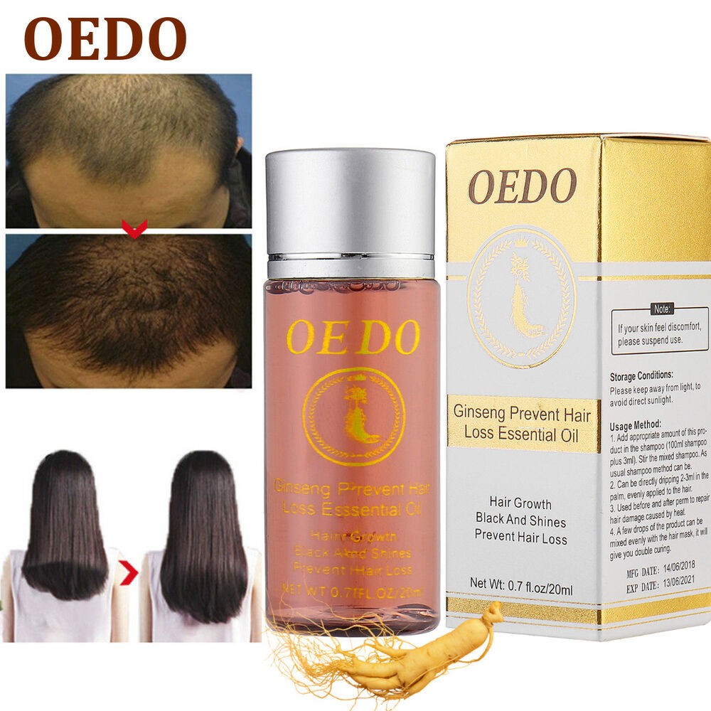 Oedo Hair Growth Essence Loss Ginseng Oil Treatment Fast Natural