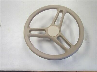 STEERING WHEEL TAN PLASTIC 3/4
