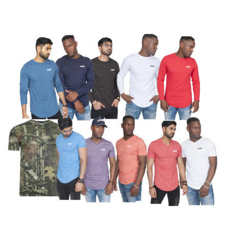 img-Mens Jungle Print ARMY Hunting Camouflage T Shirt Shooting Top Fishing t-shirt