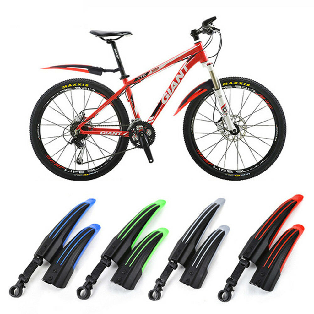 Parts Unbreakable Bicycle Mudguard Wings Front Rear Mountain Bike