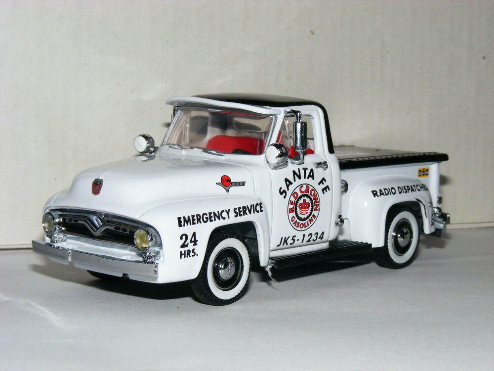 Matchbox Collectibles YRS06-M 1955 Ford F100 Pickup Red Crown ...