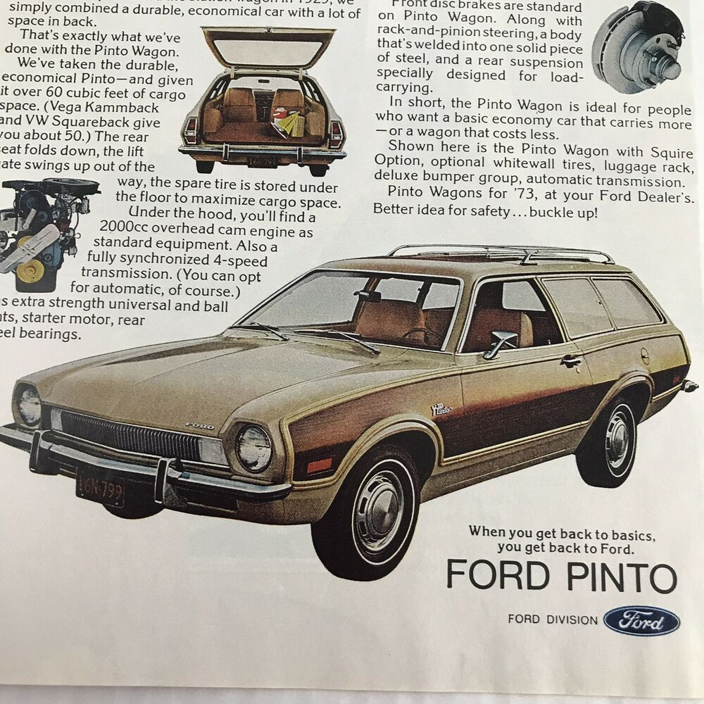 1974 Ford Pinto Pony Station - Old Car Shopper |Pinto Station Wagon