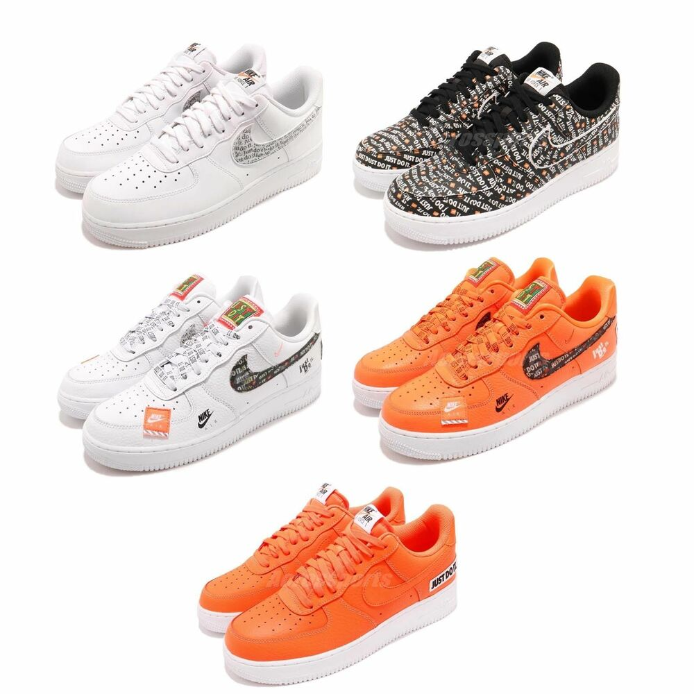 hot sale online f5aa5 21dae Details about Nike Air Force 1 07 LV8 JDI Just Do It AF1 One Mens Sneakers  Shoes Pick 1