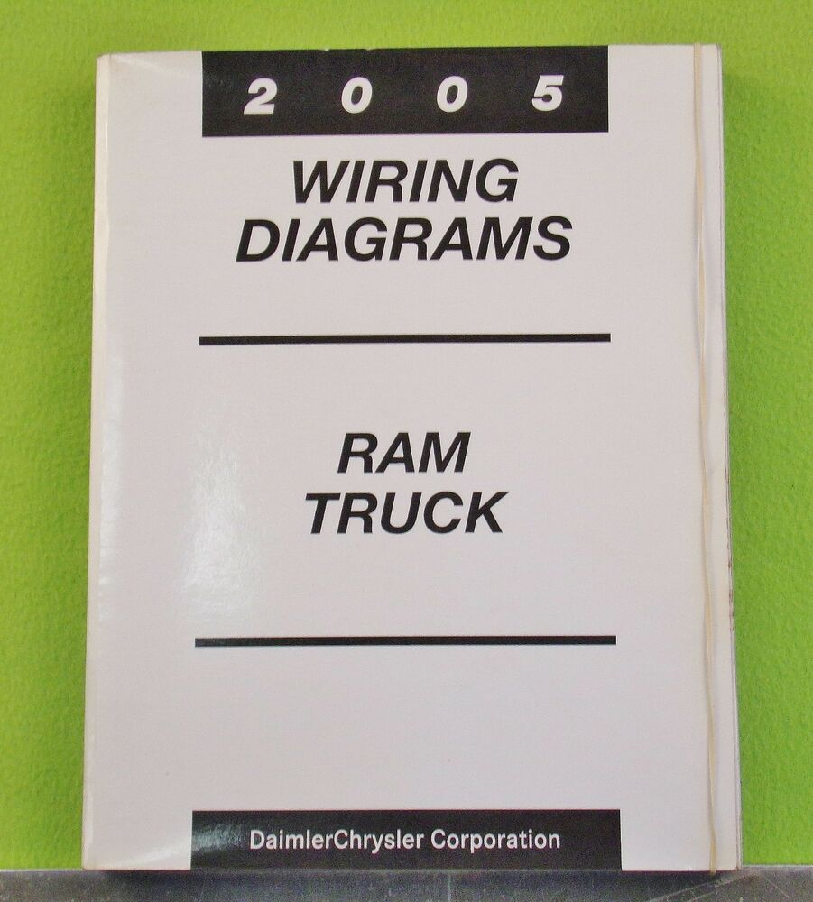 2005 Ram Dr Pickup Truck Wiring Diagrams Manual