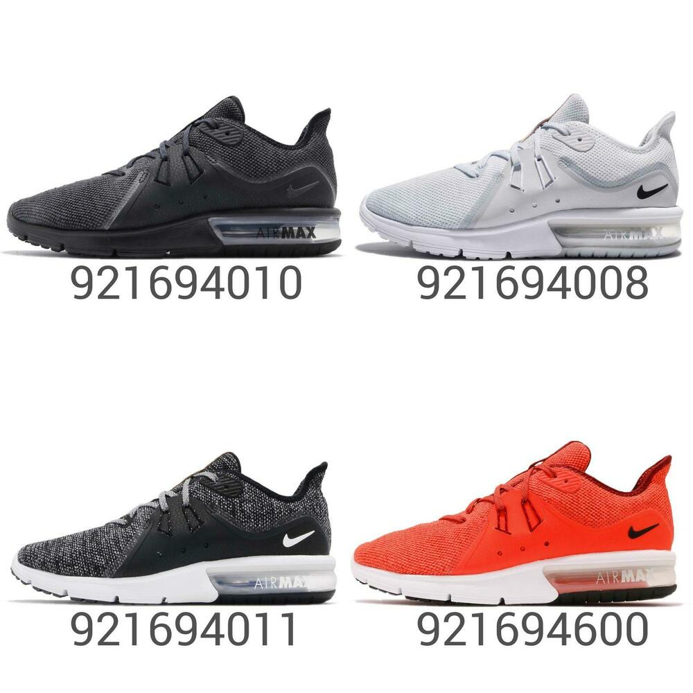 54c5f28f204 Nike Air Max Sequent 3 III Men Running Shoes Sneakers Trainers Pick ...