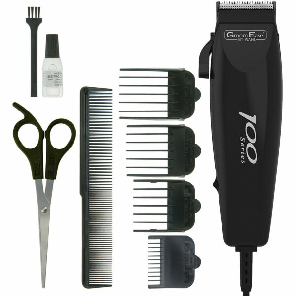 Wahl Corded Mens Hair Clippers Haircutting Kit Trimmer Shaver Complete Cut Mains