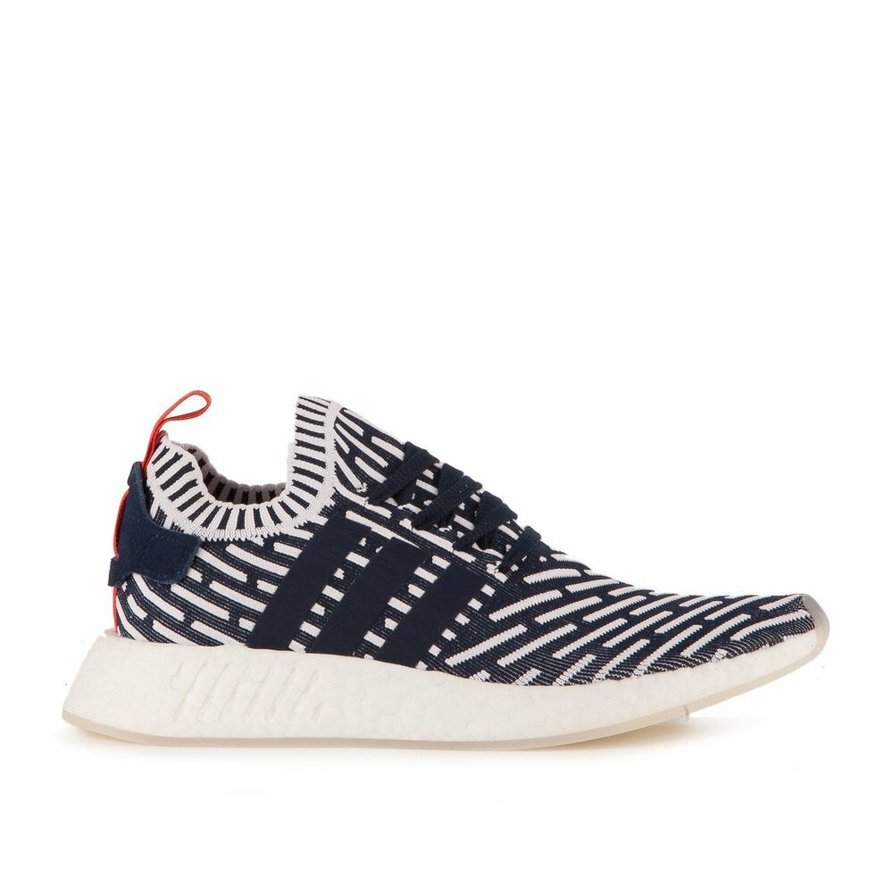 new arrival 450d0 38dd7 Details about Men s Adidas NMD R2 Primeknit BB2909 Collegiate Navy PK Boost  SZ 7-13 DS BNIB US