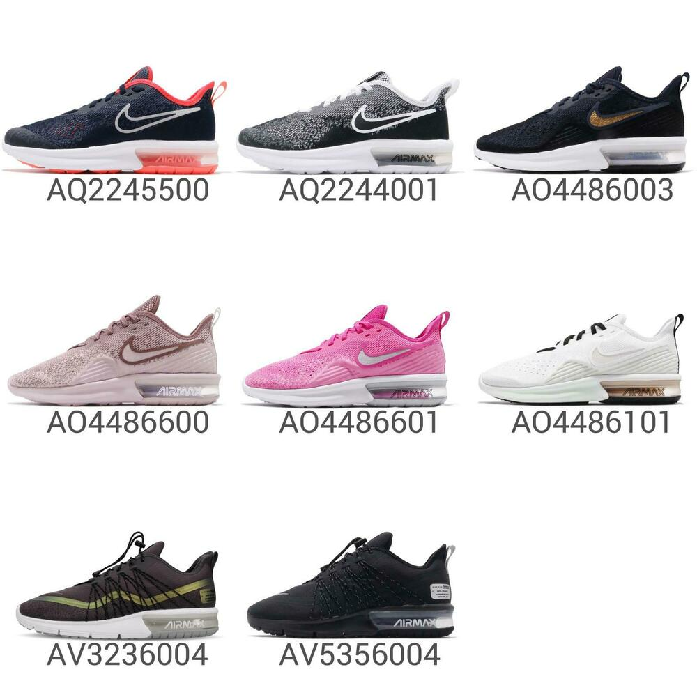 ed77d08bbe Details about Nike Air Max Sequent 4 IV / Utility Women Wmns / GS Kids  Running Shoes Pick 1