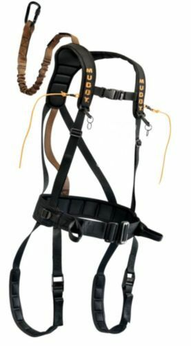 Muddy Outdoors Safeguard Treestand Black Harness Large