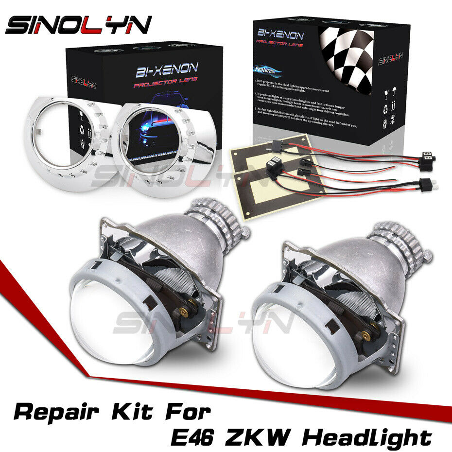 For Bmw E46 Zkw D2s Bi Xenon Headlight Repair Kit Hid
