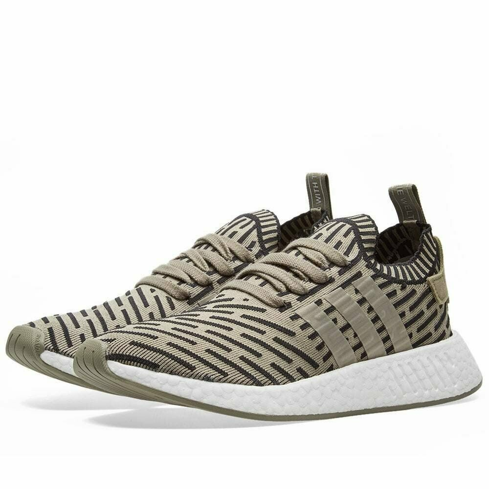 fc7afc1df415c Details about Men s Adidas NMD R2 PK BA7198 Primeknit Trace Cargo Olive  Green SZ 7-13 Boost DS