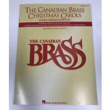 Canadian Brass Christmas Carols French Horn Sheet Music 15 Songs Book NEW