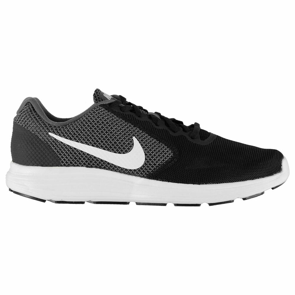 7c462df336f Details about NEW MEN S NIKE REVOLUTION 3 RUNNING SHOES!!! IN BLACK