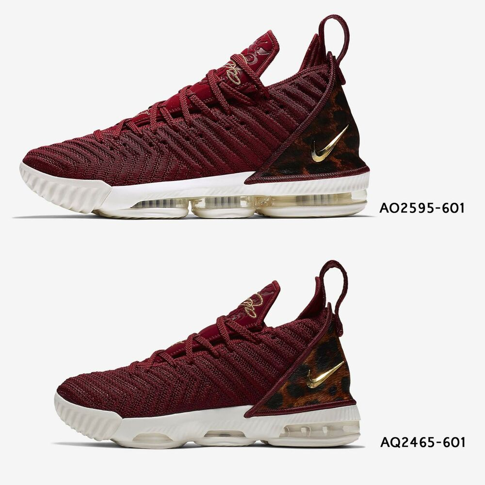 066bc53f560 Nike LeBron XVI EP 16 King James Team Red Leopard Mens Womens GS Shoes Pick  1