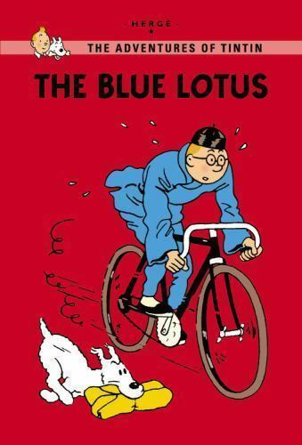 The Blue Lotus The Adventures Of Tintin Young Readers Edition